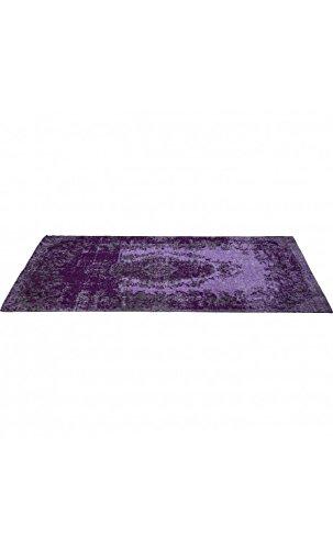 Kare Design 39972 Teppich Kelim Pop, Lila, 170x240 cm