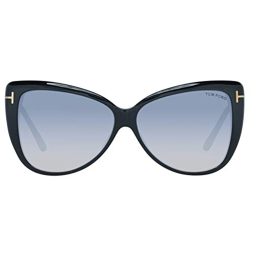 Tom Ford Damen FT0512 01C 59 Sonnenbrille, Schwarz,