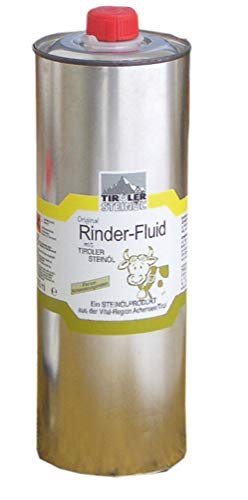 Ultimative Fluid (Rinder Fluid Bremsenöl 1000 ml mit Tiroler Steinöl für Rinder und Pferde   Fliegenschutz   Insektenschutz   Bremsenschutz   Gelsenschutz   Tiroler Steinoel)