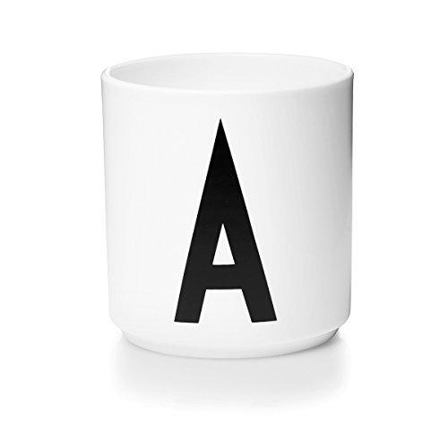 Mug A in porcellana. Design Arne Jacobsen.