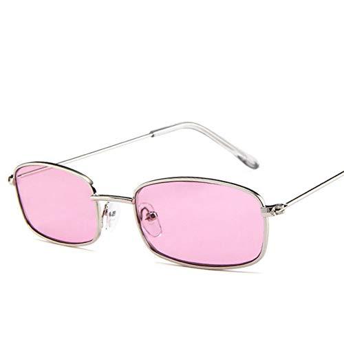 - Pink Neon Square Brille