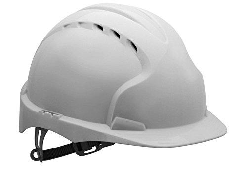 Jsp AJF160-000-100 Evo3Komforthelm, belüftet, Weiß