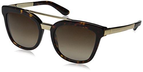 Dolce & Gabbana Unisex DG4269 Sonnenbrille, Braun (Havana 502/13), One size (Herstellergröße: 54)