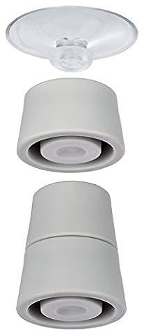 Wenko 2521902100 Pied pour Plaque de Protection Plastique Multicolore 28 X 28 X 13 cm 4 Pièces