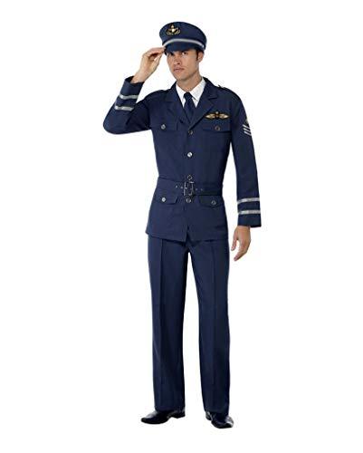 Horror-Shop 40s Airforce Soldaten Kostüm M 38-40