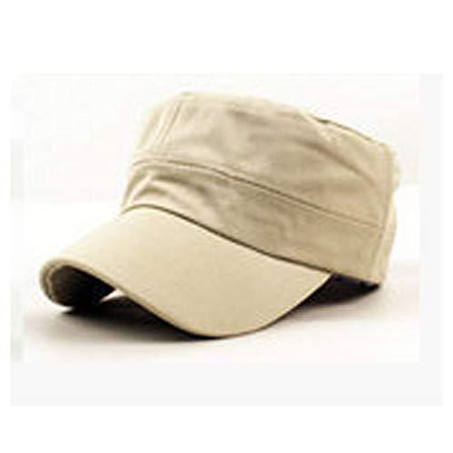 JJJRMP Fashion Men Plate Cap Klassischen Stil Sonnencreme Sonnenhut Army Caps Plain Hats