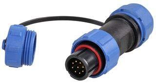 Mbs Connect Circular Plug, 9 Pole, 5-8MM, IP68 SP1310/P9IIC -