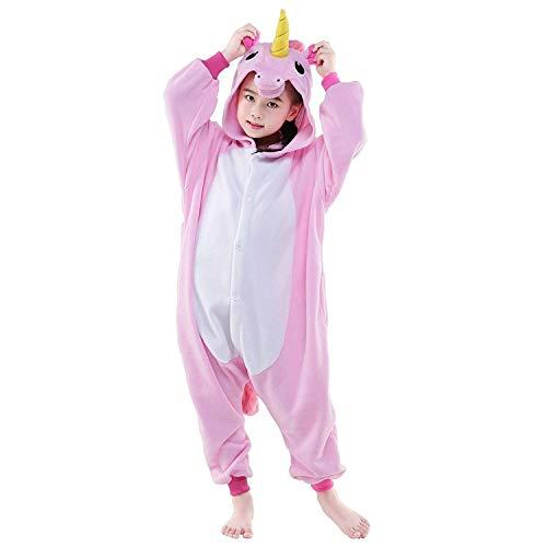 Jumpsuit Schlafanzug Kinder Kostüme Tier Cosplay Mädchen Jungen Winter Nachtwäsche