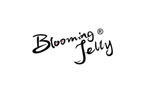 Blooming Jelly Frauen-Mesh-Panel Retro 50er Stil Swing-Kleid Schwarz