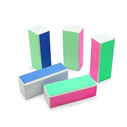 Buffing Block-datei (5pcs Nagel-Kunst-Sorgfalt Buffer Buffing Schleifblock Dateien Grit Acryl Werkzeug-Nagel-Kunst Shiner Buffer 4 Ways Polish Schleifen Datei-Blocking)