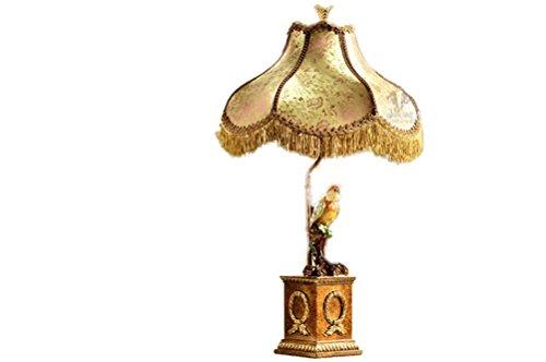 NN Europäische Kreative Schreibtischlampe Kennzeichnet Papageien-Studie Schlafzimmer-Nachttisch-Wohnzimmer-Dekorative Lampe , Button Switch,button (Papageien Für Kinder Kostüme)