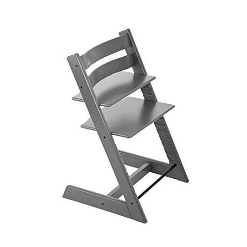Tremendous Stokke Tripp Trapp Chaise Haute Evolutive Gris Ncnpc Chair Design For Home Ncnpcorg