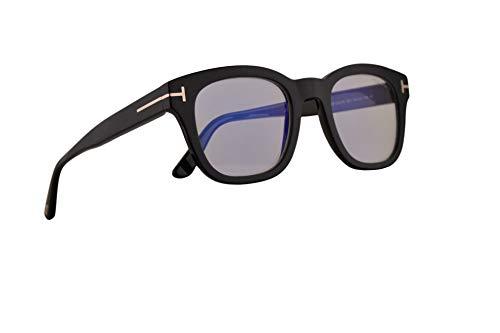 Tom Ford FT5542-B Brillen 50-22-145 Schwarz Mit Demonstrationsgläsern 001 TF FT 5542-B FT5542B TF5542B TF5542-B