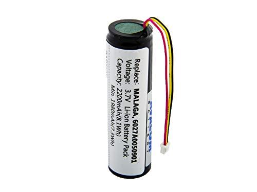AVACOM GPTT-400-2200 Navigationsbatterien TomTom Go 400, 500, 600 Li-Ion 3,7V 2200mAh Go 530 Gps