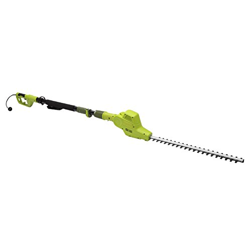 Sun Joe UK-SJH902E Electric Telescoping Pole Hedge Trimmer, Green