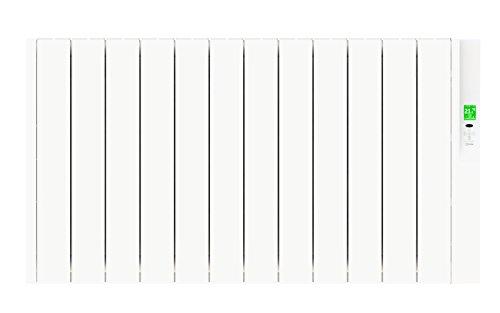 Rointe SRN1320RAD2 - Radiador eléctrico bajo consumo (RAL 9010, 1320 W, 240 V) color blanco