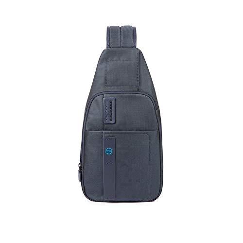 PIQUADRO Mono Sling Bag S Carta Da Zucchero