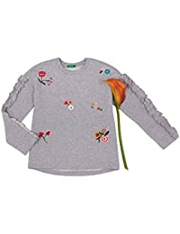 United Colors of Benetton Mädchen Pullover Sweater L/S