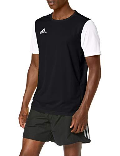 adidas Estro 19 JSY T-Shirt, Niños, Black, 2XL