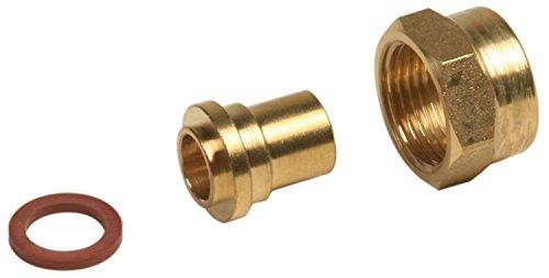 Boutt 1183776 GZR15012 - Flessibile per gas butano e propano con attacco femmina, 20 x 150, per brasare il rame,  12, confezione da 2 pezzi