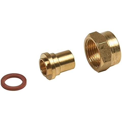 Boutt 1183783 GZR15014 - Racor hembra para tubera de gas butano y propano (20 x 150, conexin de cobre, dimetro 14, 2 piezas)