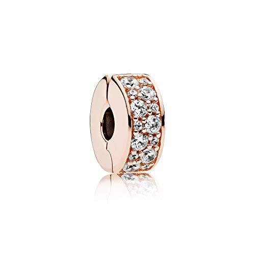 Pandora Clip-Element Pavé-Glanz Rosé 781817CZ