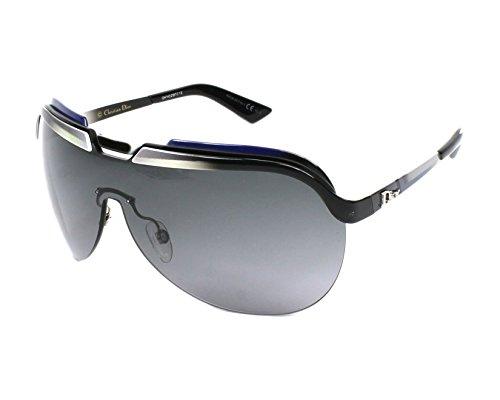 Dior Für Frau Dior Solar Black / White / Grey / Blue / Grey Gradient Metallgestell Sonnenbrillen