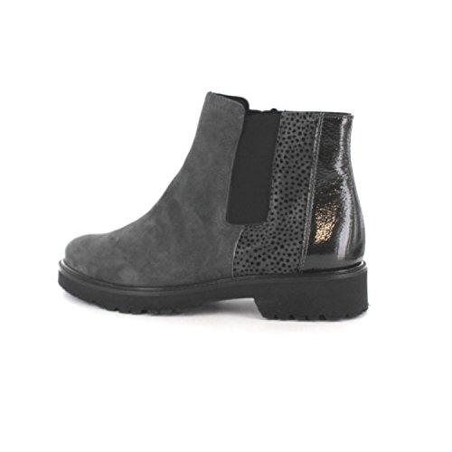 Semler Damen Elena-g½ Chelsea Boots Grau/Anthrazit