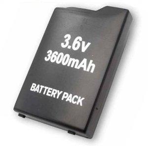 Batterie pour PSP Slim Lite 2000/3000–Batterie Compatible Haute Capacité