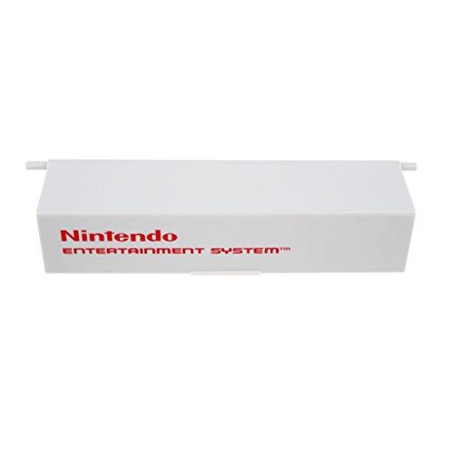 D DOLITY Tapa Puerta Superior para Nintendo NES Controller Flip Cover PVC de Plàstico Protàtil Design