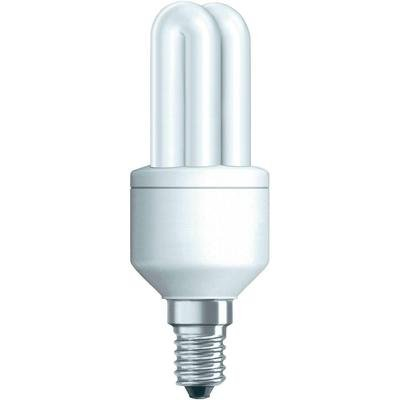 Osram 63119B1 Duluxstar E14 Energiesparlampe in Röhrenform 5W/825, warmweiß von Osram - Lampenhans.de