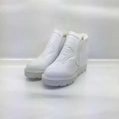 Stivaletti Donna Solette di Luce Patent Leather Spring Fall Casual Light Soles Fiore Heel Flat Black White Flat White