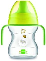 MAM Learn To Drink Cup Little Farm ZEDMM222N Tazza con Manici Removibili e Beccuccio Morbido, 6+ mesi , 190 ml