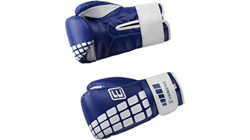 ENERGETICS Box-Handsch.PU FT, blau/weiss,12