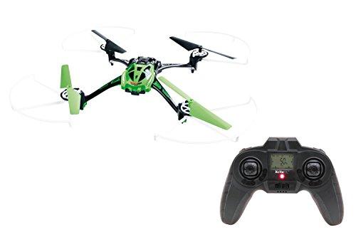 XciteRC 15014100 - Ferngesteuerter RC Quadrocopter Rocket 250 3D - 4 Kanal RTF Drohne mit Kamera, grün - 3