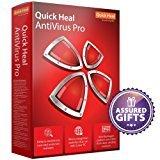 Quick Heal Antivirus Pro Latest Version - 2 PCs, 1 Year (DVD)