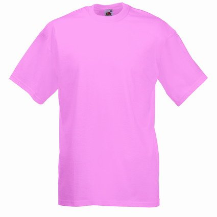 Fruit of the Loom Value T-Shirt Light Pink - S