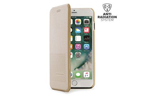 a7d0f4ca Tucano - Funda dueinuno dorada para iphone 7 plus/6 plus/6s plus