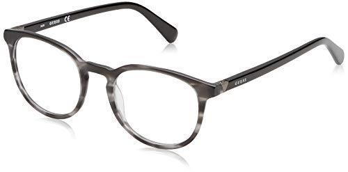 Guess Unisex-Erwachsene GU1946 020 49 Brillengestelle, Grau (Grigio), - Guess Frames Brille