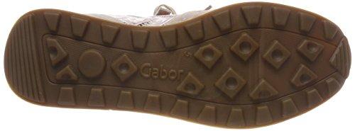Gabor Damen Comfort Basic Derbys Mehrfarbig (Rose/Rame)