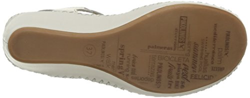 Pikolinos  Margarita 943,  Sandali donna Bianco (Blanc (Nata))