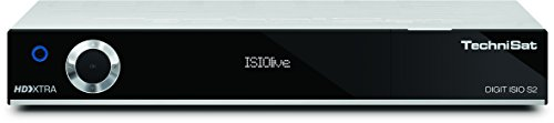TechniSat DIGIT ISIO S2 HDTV Twin-Satellitenreceiver (PVR-Funktion, UPnP-Livestreaming) silber