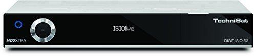festplattenresiver TechniSat DIGIT ISIO S2 HD Sat-Receiver mit PVR-Aufnahmefunktion via USB oder im Netzwerk, Timeshift, UPnP-Livestreaming, silber