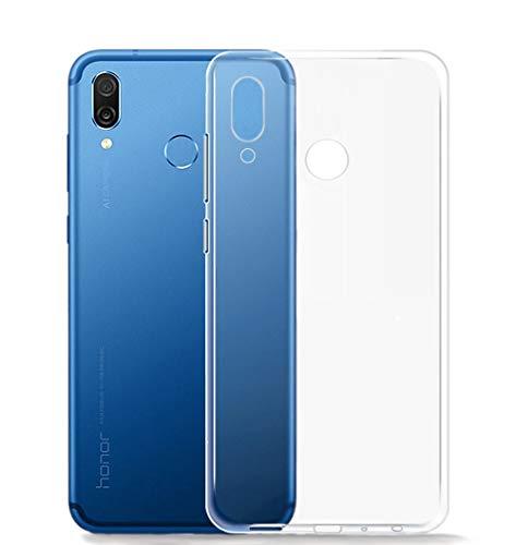 Beetop Huawei P30 Hülle Schutzhülle Ultradünn Handyhülle Transparent Weiche Silikon TPU Rückschale Case Cover für Huawei P30 - Durchsichtig