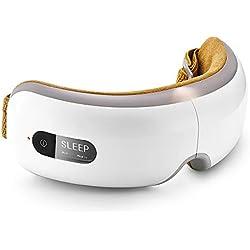Breo Masseur Oculaire, Appareil de Massage pour Détendre les Yeux par Pression d'Air, Vibration et Chaleur, Soulage la Fatigue Visuelle, Anti-Cernes, Favorise l'Endormissement - iSee4