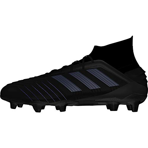 adidas Herren Predator 19.1 Fg Fußballschuhe, Schwarz Core Utility Black, 45 1/3 EU (Fußballschuh Schwarz)