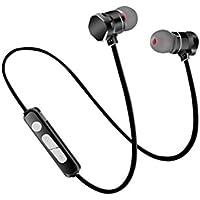 YAN Auriculares Bluetooth Auriculares inalámbricos Bluetooth 4.1 con micrófono y Soporte de Control de Voz Música