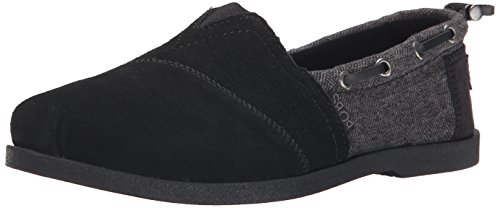Bobs by Skechers Chill Lux-Diaries Donna US 5 Nero Mocassini