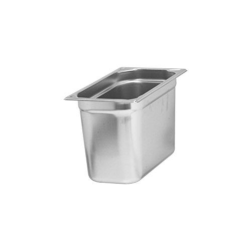 Blanco Gastronorm-Behälter, Edelstahl, GN 1/3-200, ungelocht, Inhalt 7,5 L, 1 Stück, 1550580