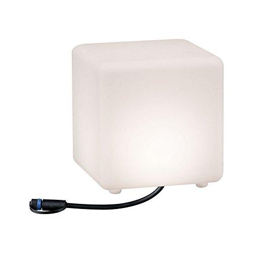 Paulmann 941.80 Outdoor Plug & Shine Lichtobjekt Cube IP67 3000K 24V 94180 Würfelleuchte Dekowürfel Aussenleuchte Gartenbeleuchtung Terassenleuchte